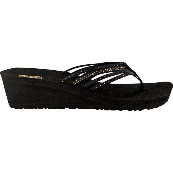 Teva Mush Adapto Wedge Sandals Studded Black U.S.A. & Canada