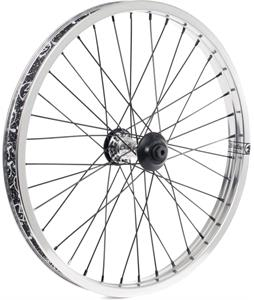 The Shadow Conspiracy Symbol Front BMX Bike Wheel