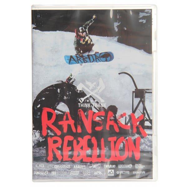 Think Thank Ransack Rebellion Snowboard Dvd U.S.A. & Canada