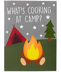 Three Cheers For Girls What's Cooking Camp Card