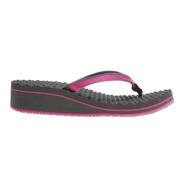 The North Face Base Camp Wedge Sandals Fuchsia Pink / Grey U.S.A. & Canada