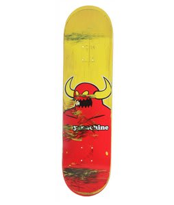 Toy Machine Used Monster Face Skateboard Deck