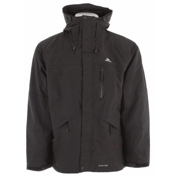 Trespass Corvo Jacket Black U.S.A. & Canada