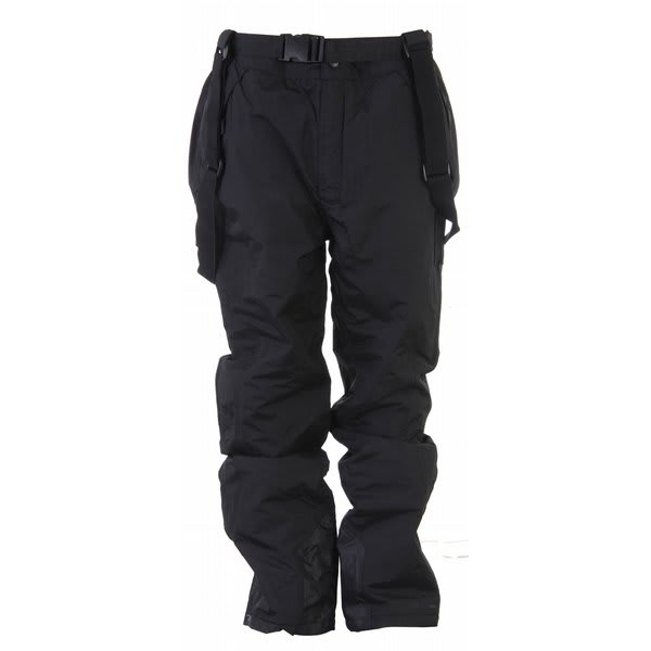 Trespass Glasto Snow Pants Black U.S.A. & Canada