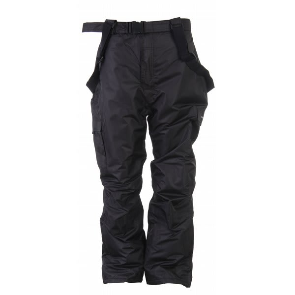Trespass Seige Plus Snow Pants Black U.S.A. & Canada
