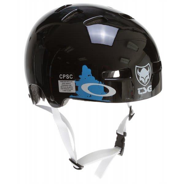 Tsg Evolution Pro Bike Helmet Black U.S.A. & Canada