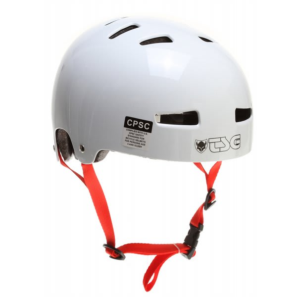 Tsg Evolution Bike Helmet Gloss White U.S.A. & Canada
