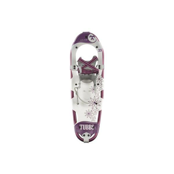 "Tubbs Xplore Snowshoes Purple / White 25"" U.S.A. & Canada"