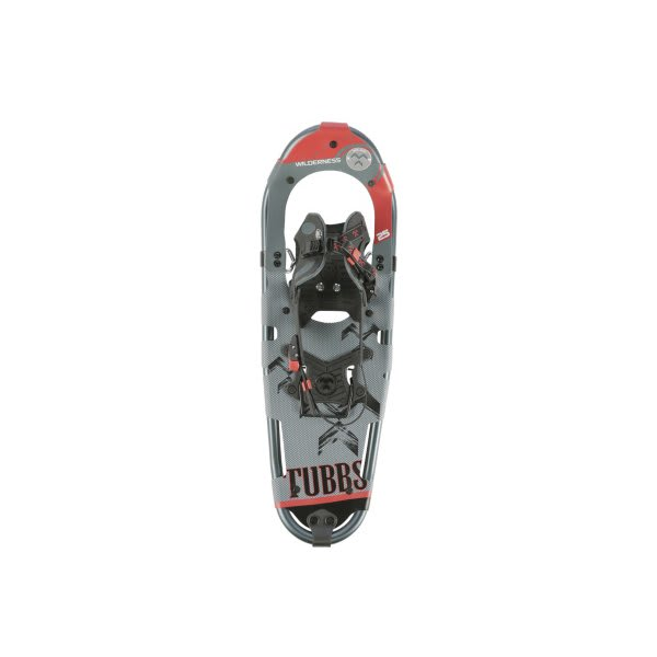 "Tubbs Wilderness 25 Snowshoes Grey / Red 25"" U.S.A. & Canada"