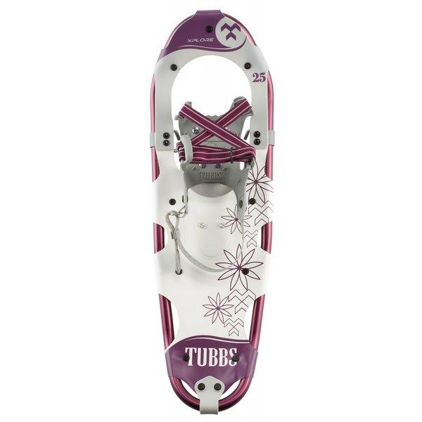 Tubbs Xplore 25W Snowshoes Purple / White U.S.A. & Canada
