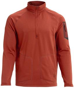 Burton AK Grid Half Zip Fleece
