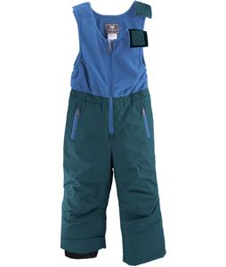 White Sierra Toddler Bib Ski Pants