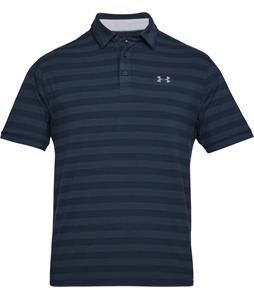 Under Armour Charged Cotton Scramble Stripe Polo