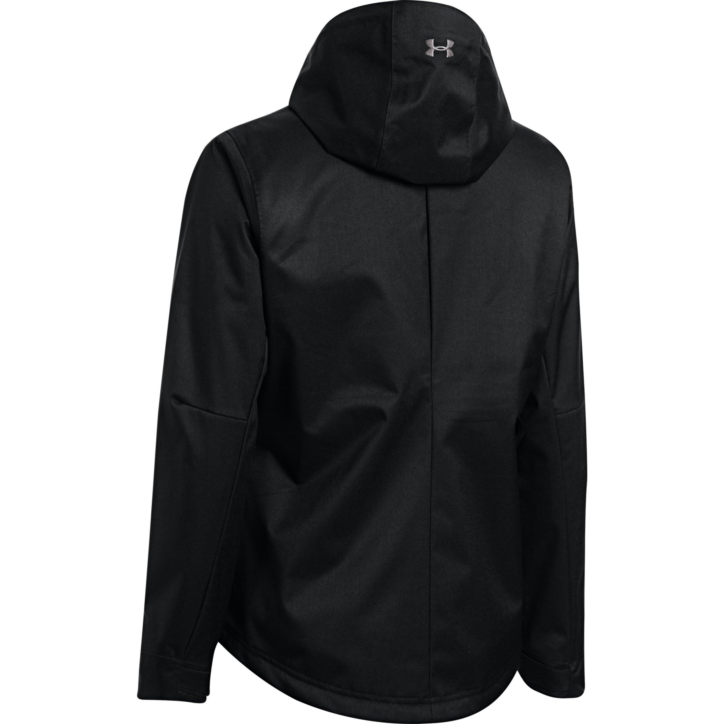 sales under armour jackets black
