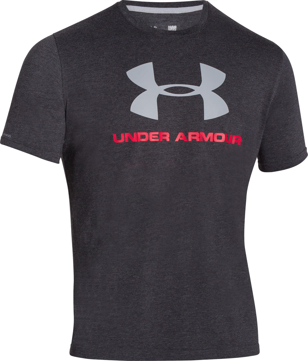 On sale under armour charged cotton sportstyle logo t for Under armour tee shirts sale