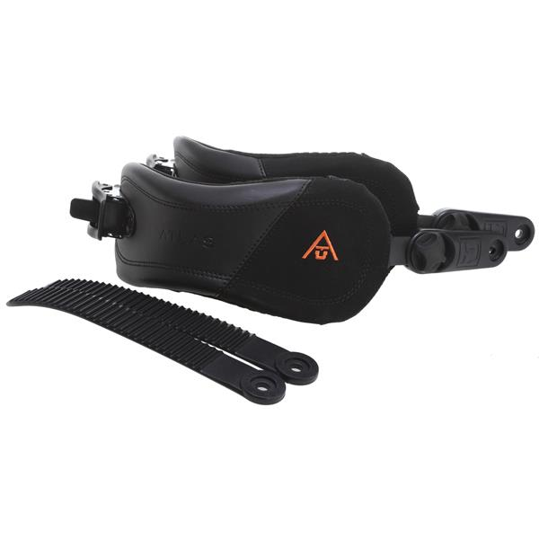 Union Force Ankle Binding Straps Black U.S.A. & Canada