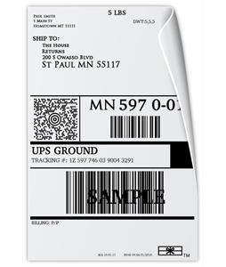 UPS Email Return Label