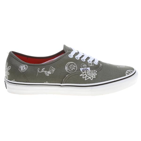 Vans Authentic Sf Shoes (Tudor) Military Aloha U.S.A. & Canada