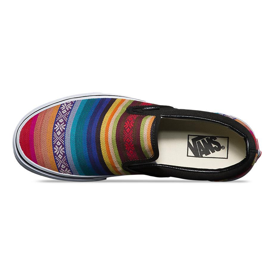 7d83d079dc Vans classic slip on shoes baja multi blk jpg 920x920 Vans baja shoes