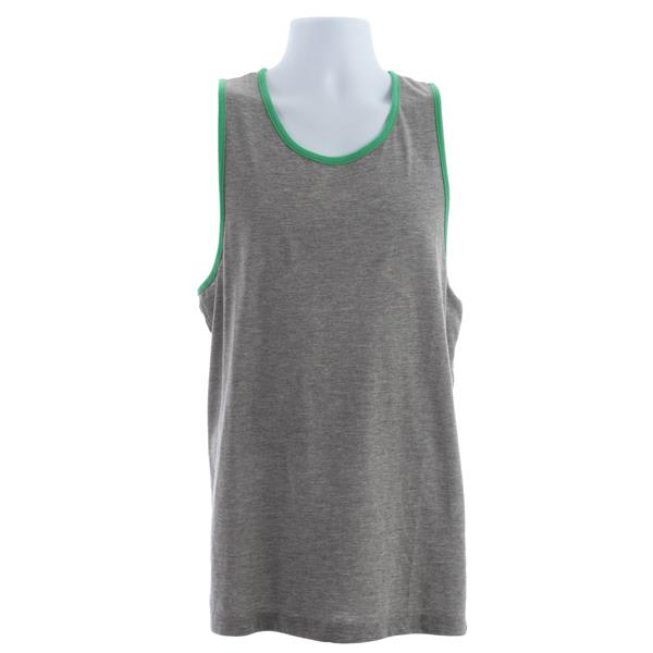Vans Core Basics Tank Concrete Heather / True Green U.S.A. & Canada