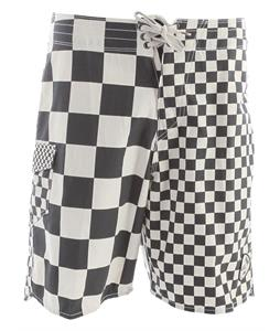 checkerboard vans biker shorts