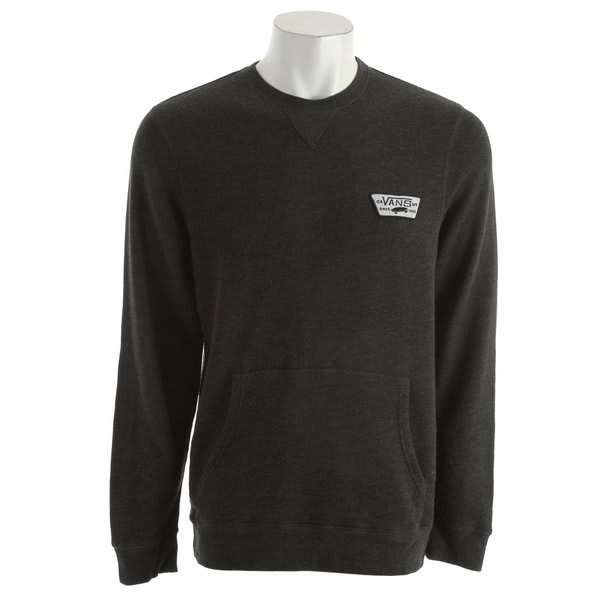 Vans Garnet Sweatshirt Black Heather U.S.A. & Canada
