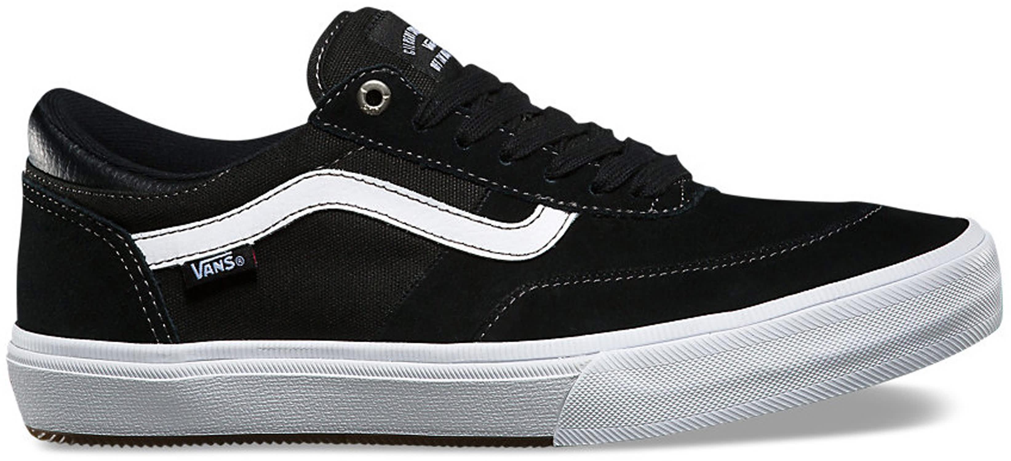 Vans Skate Shoes Black And White