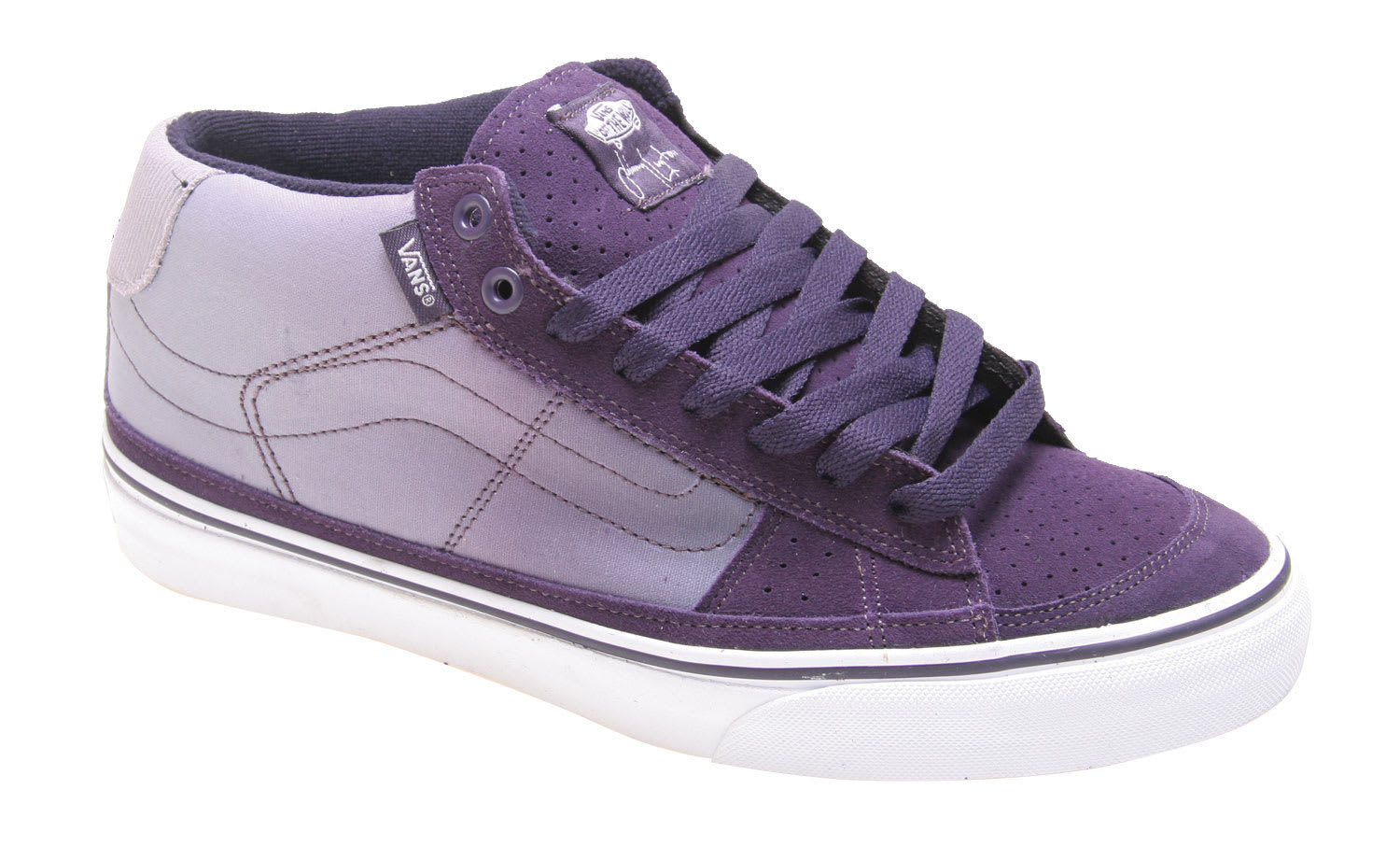 99d967923f Vans J Lay Mid Skate Shoes - thumbnail 1
