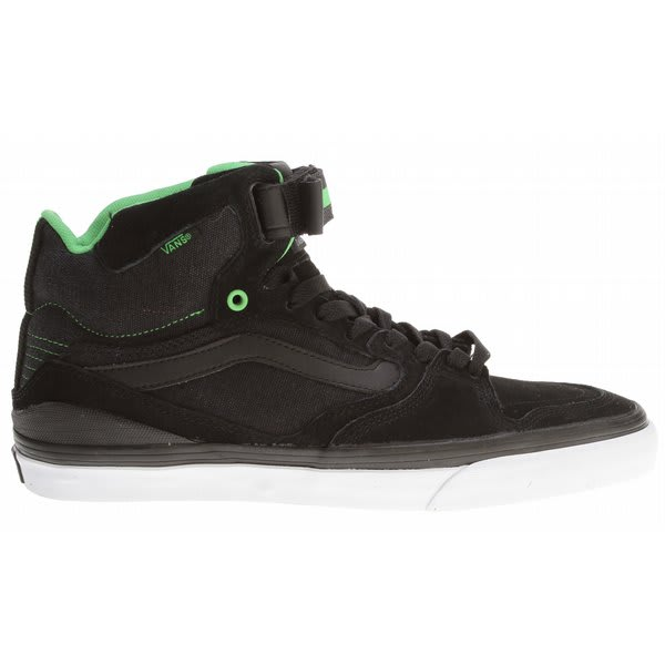 Vans Owens Hi 2 Bike Shoes Black / Grey / Green U.S.A. & Canada