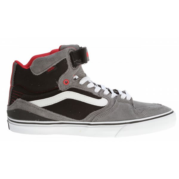 Vans Owens Hi 2 Bike Shoes Grey / Black / Red U.S.A. & Canada