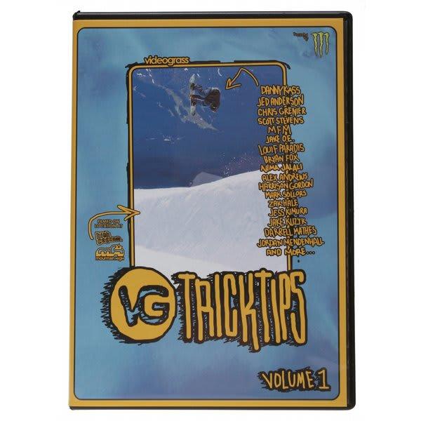 Videograss Vg Trick Tips Snowboard Dvd U.S.A. & Canada