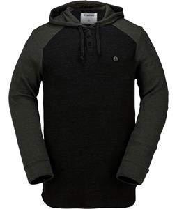 Volcom 3 Button Henley Thermal