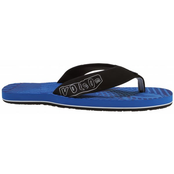Volcom Burner Creedlers Sandals Blue U.S.A. & Canada