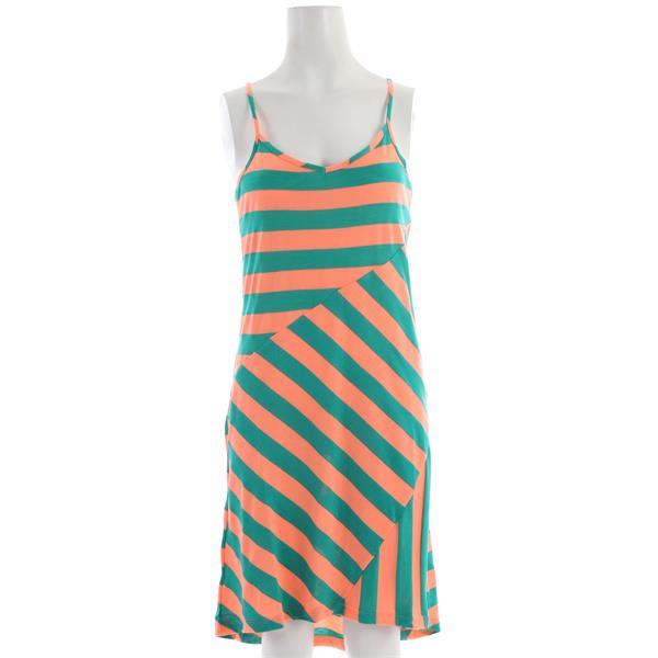 Volcom Dusty Pharaoh Dress Neon Orange U.S.A. & Canada