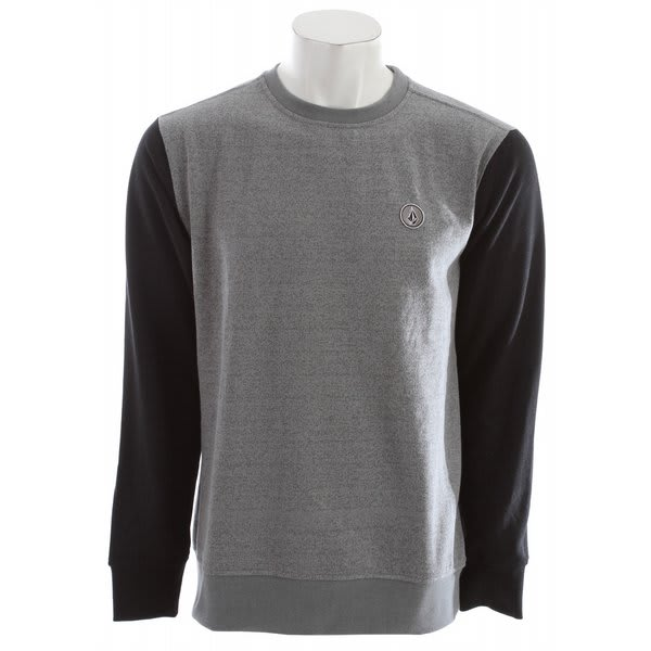 Volcom Eds Crew L / S Sweatshirt Silver U.S.A. & Canada