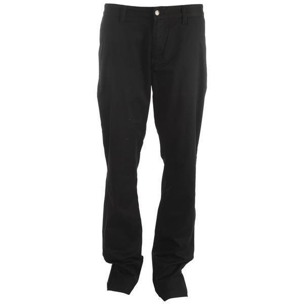 Volcom Frickin Modern Stretch Chino Pants Black U.S.A. & Canada