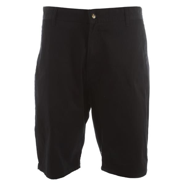 Volcom Frickin Elastic Shorts Black U.S.A. & Canada