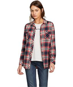 Volcom Getting Rad Plaid L/S Flannel