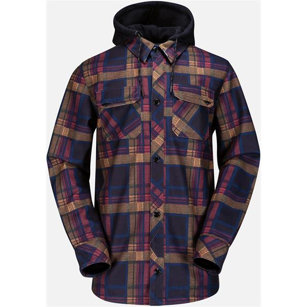 Volcom Hood Flannel Snowboard Jacket