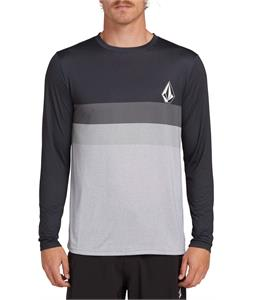 Volcom Lido Heather Block L/S Rashguard