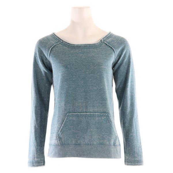 Volcom Moclov Crew Sweatshirt Slate Blue Heather U.S.A. & Canada