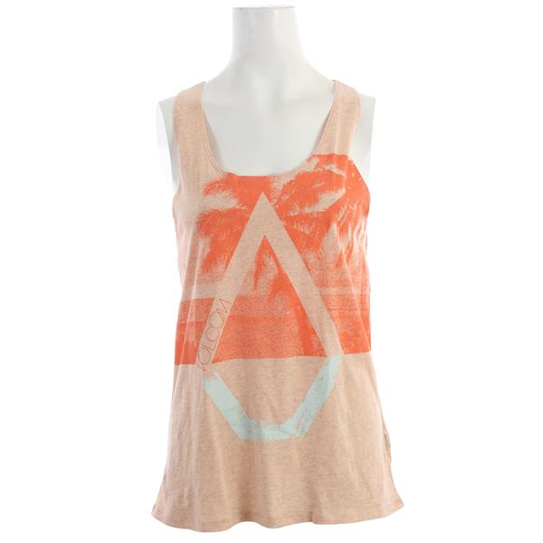 Volcom Palm Pipe not Back Tank Bellini Peach U.S.A. & Canada