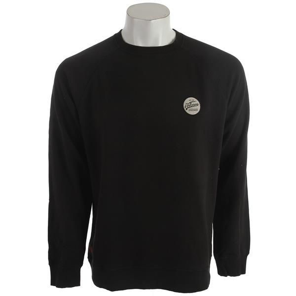 Volcom Programer Crew Sweatshirt Black U.S.A. & Canada