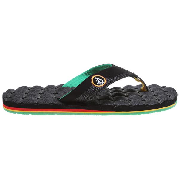 Volcom Recliner Sandals Rasta U.S.A. & Canada