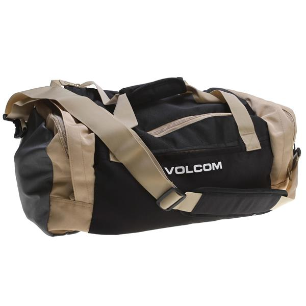 Volcom Smuggle Polyester Duffel Bag Black Charcoal 42L U.S.A. & Canada