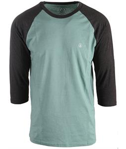 Volcom Solid Heather 3/4 Raglan