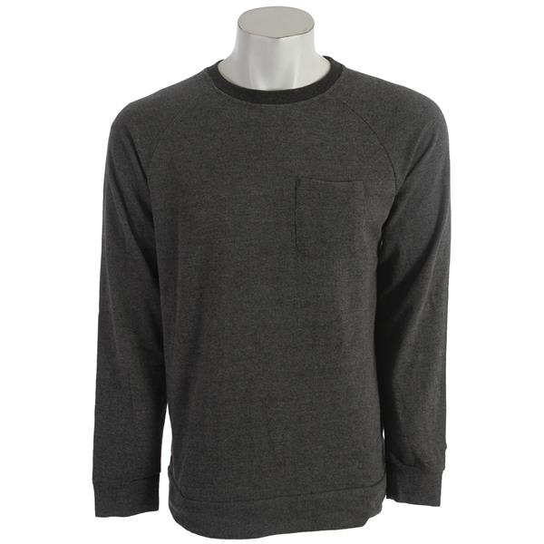 Volcom Stone Crew Sweatshirt Black U.S.A. & Canada