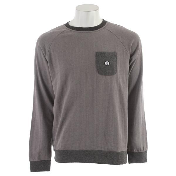 Volcom Stone Crew Sweatshirt Grey U.S.A. & Canada