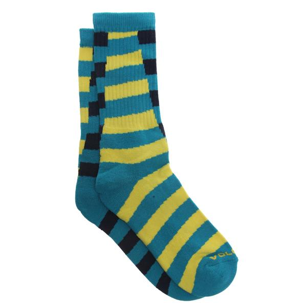 Volcom Traction Socks Yellow U.S.A. & Canada