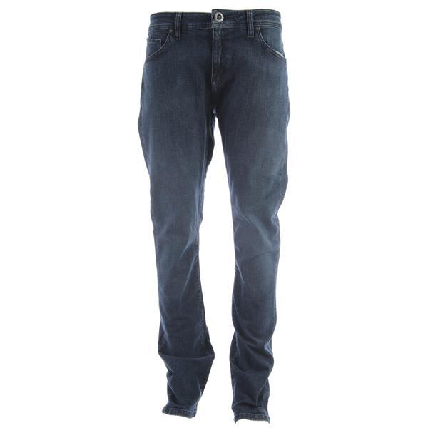 Volcom Vorta Jeans High Time Blue U.S.A. & Canada